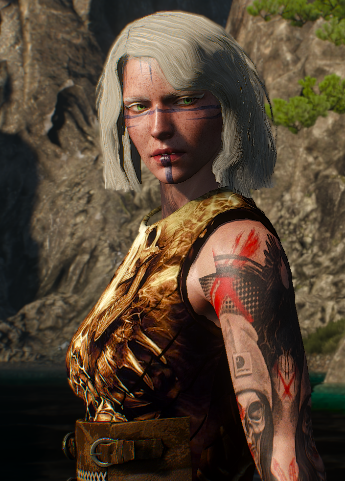 cirilla time to hunt at The Witcher 3 Nexus - Mods and