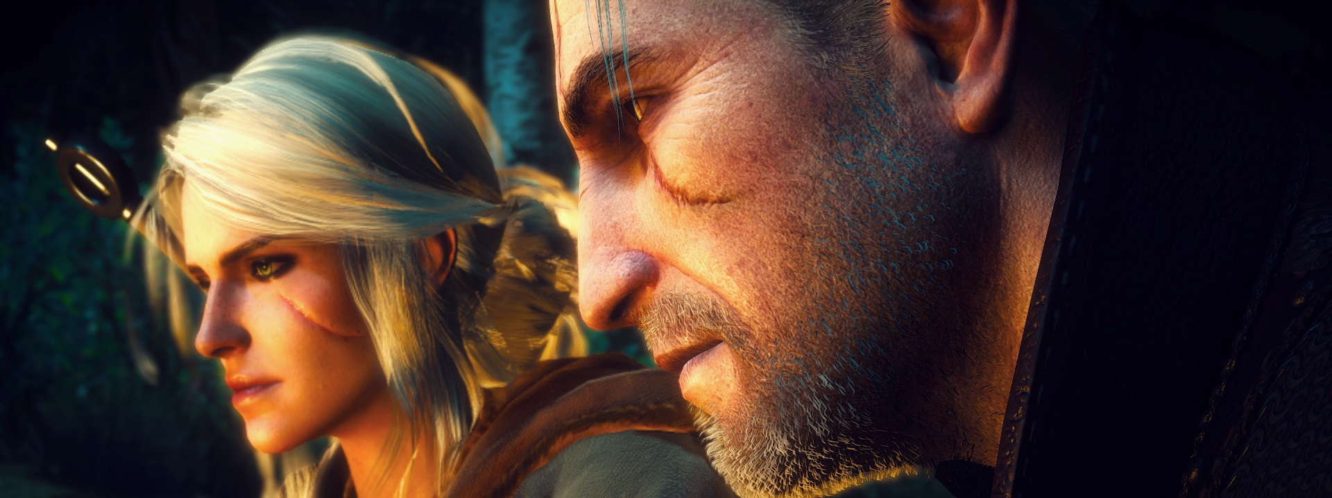 Geralt And Ciri at The Witcher 3 Nexus - Mods and community