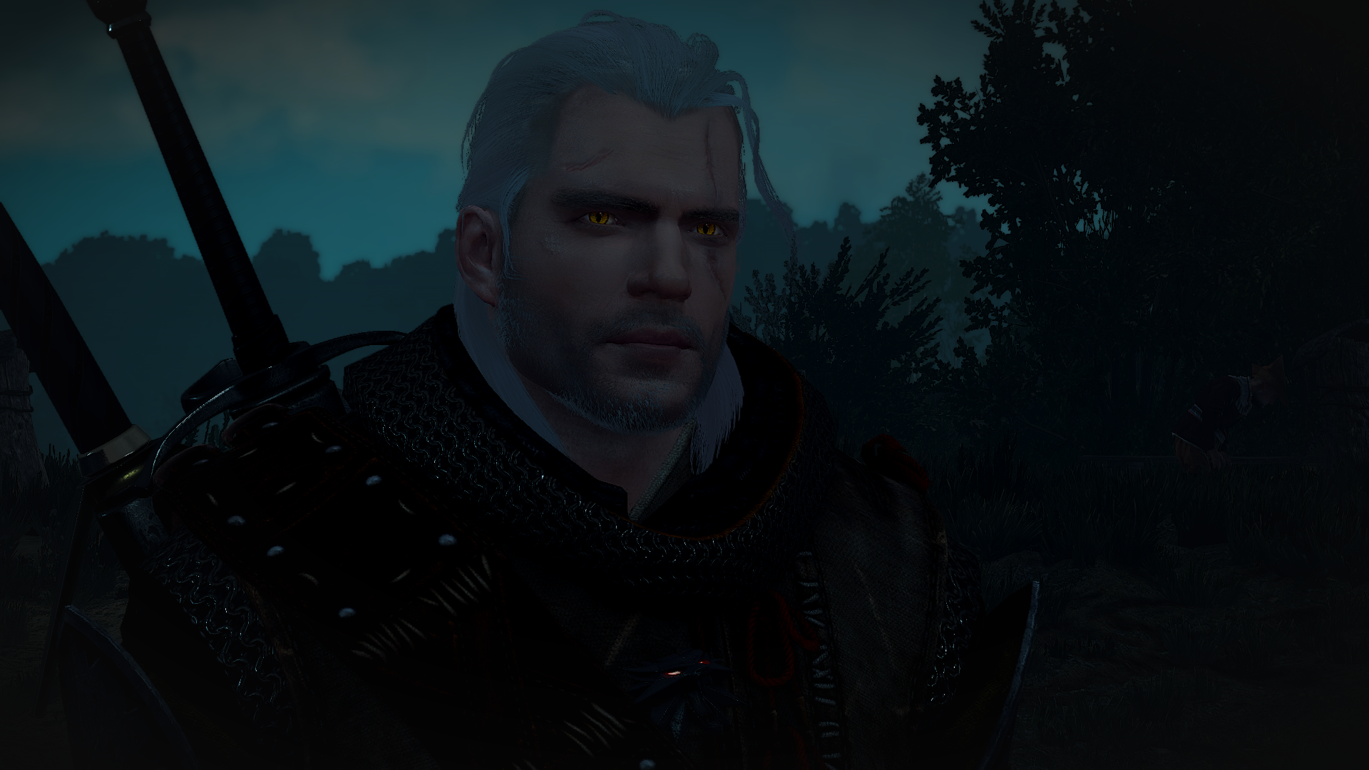 Geralt Of Rivia Henry Cavill Game Lore Version At The