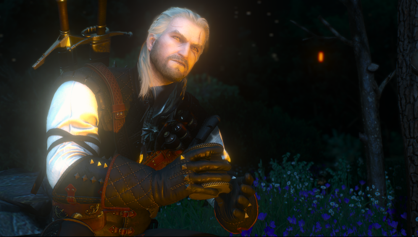 Geralt Enjoying Some Butcher Of Blaviken Wine At The Witcher 3 Nexus Mods And Community The story about how geralt of rivia got his nickname: geralt enjoying some butcher of