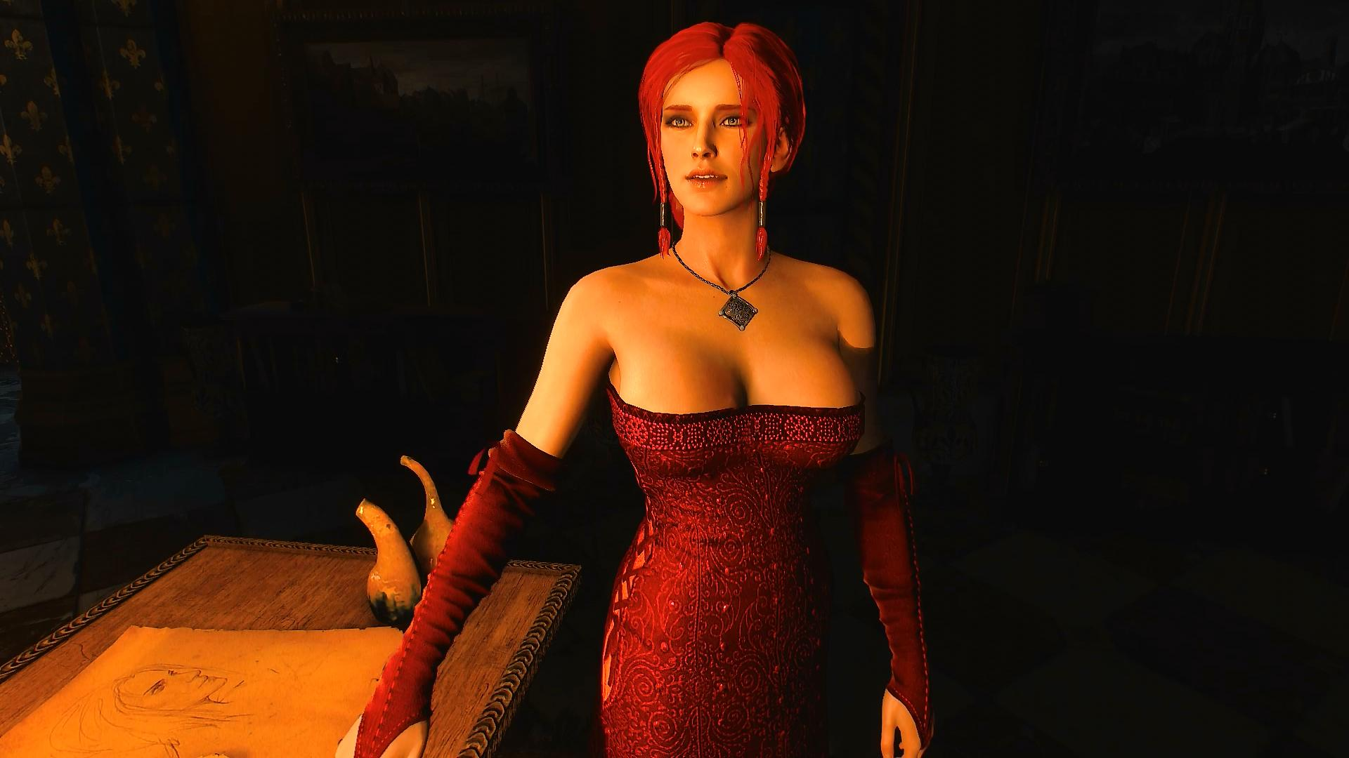 Triss at The Witcher 3 Nexus - Mods and community