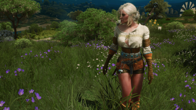 Spring hike in Toussaint with Ciri