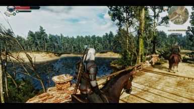 The Witcher 3 Cinematic Remake light