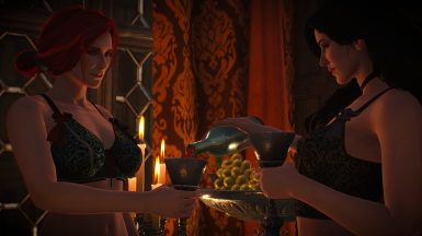 Sexy Yen and Triss