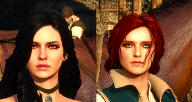 Yen and Triss by Denroth's mod