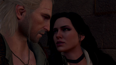 Like the books Geralt is drawn to Yen