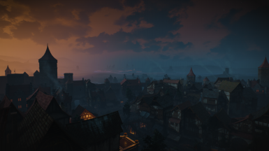 Dawn in Novigrad