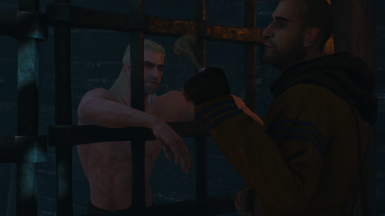 Geralt Of Rivia and Master Mirror