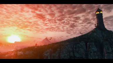 Sunset From Skellige