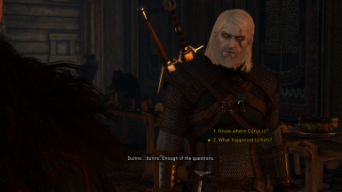 but if it's another Geralt