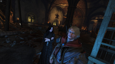 The witcher and his wife