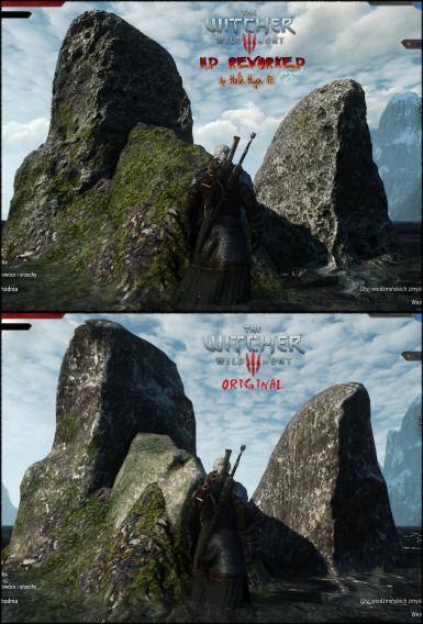 The Witcher 3 HDRP Rocks Update