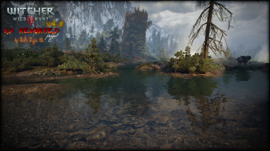 Skellige River with realtime reflections