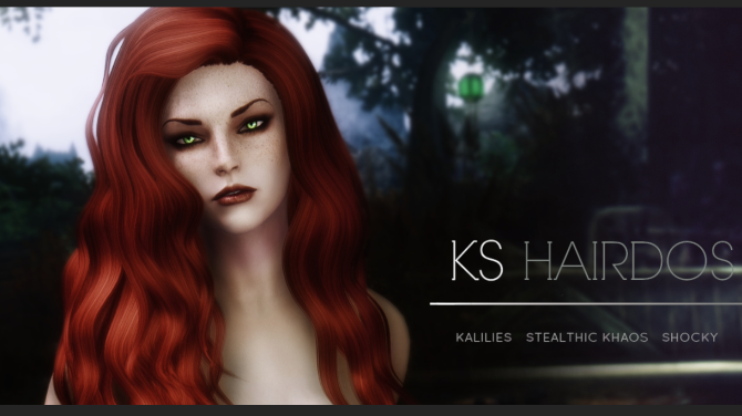 The Heir of Hair - Kalilies at Nexus mods and community