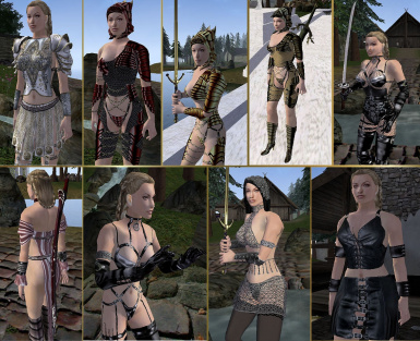 Aleanne Clothes and Armor part 1 and 2