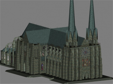 Chartres Cathedral of Notre Dame