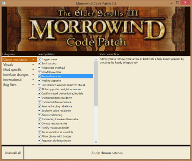morrowind patch
