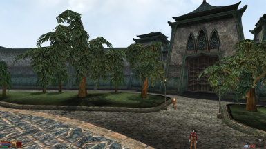 v2 Temple Courtyard - Before