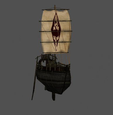 imperial sailed ship