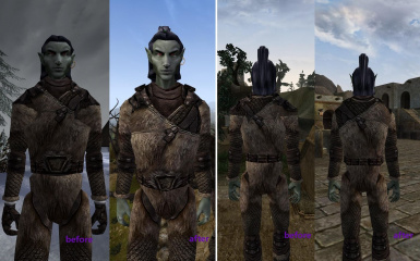 MCFC - Morrowind close-fitting clothing