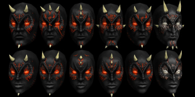 Selection of available faces