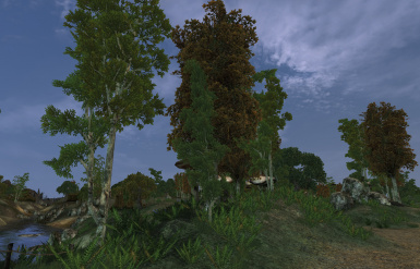 Vurts Ascadian Isles Trees Replacer II