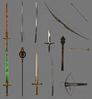 New weapons/artifacts