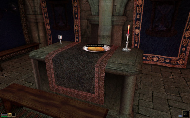 fabric on the imperail altar - retextured more vanilla