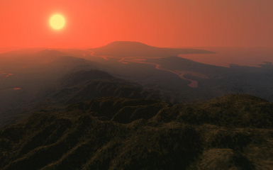 Hammerfell - Highrock border from Dragontail Mountains