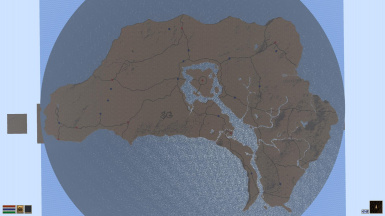 Cyrodiil height map currently being used by the mod project PC