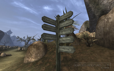 Signposts Retextured 2-0 TR
