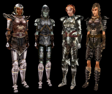 Morrowind Armor Overhaul