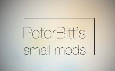 PeterBitts Small Mods
