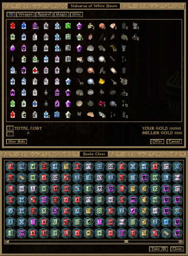 Scroll and Potion Icons