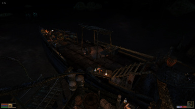 Ship Deck-Night