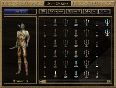 New icons compared to vanilla icons