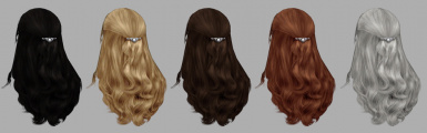 Skinned hairs for Morrowind