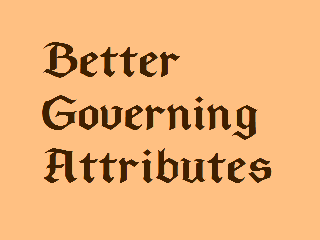 Better Governing Attributes
