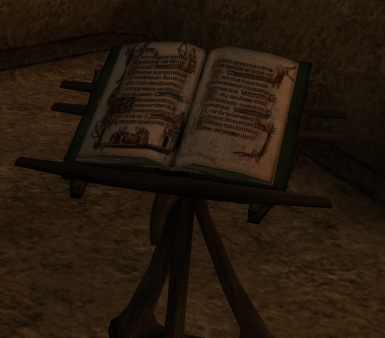 New open book ingame