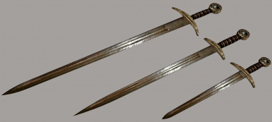 Steel Longsword-Dagger Alternatives