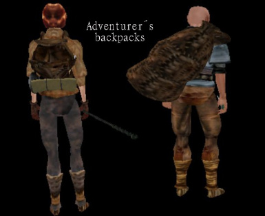 Adventurer's Backpacks