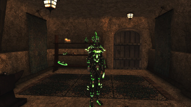 Glass Glowset - Better Morrowind Armor