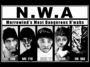 N.W.A. - Nwa's with Attitude - Title Screen Music replacer