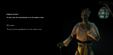 Skyrim Style Splash Screens with quotes at Morrowind Nexus