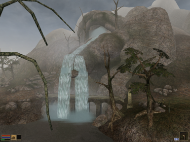 Waterfall north of Balmora