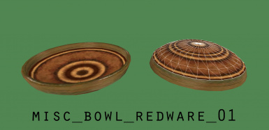 misc bowl redware 01 mesh replacer