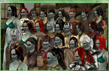 Galleo_RBMcK_DE_v1.0 MacKom Head with hair on the bodies of Robert. The Dunmer