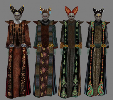 Dunmer Nobles Overhaul