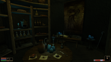Alchemy table and desk