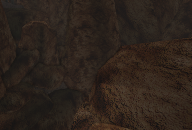 West Gash rock retexture